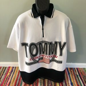 90s Tommy Hilfiger Competition Jersey Shirt XXL